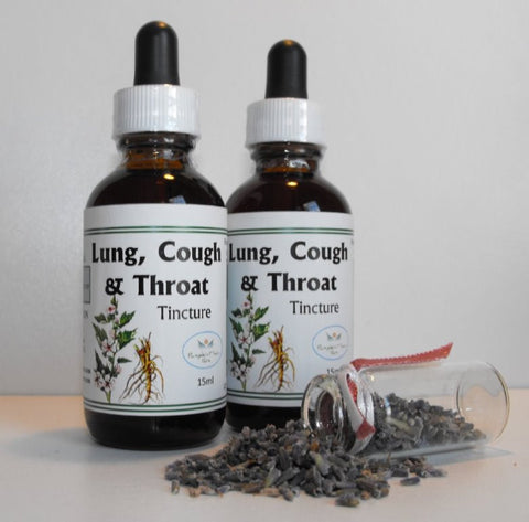 Lung, Cough & Throat Tincture