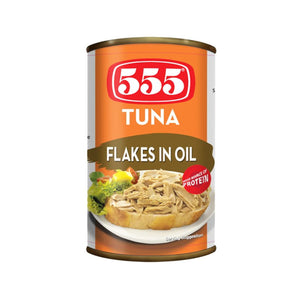 555 TUNA FLAKES IN OIL 155G - ANA Investment Pvt Ltd