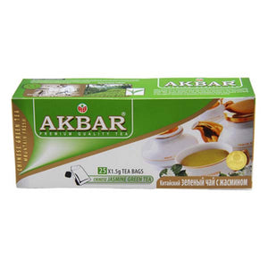 AKBAR JASMINE GREEN TEA 25 x 1.5GM - ANA Grocer by ANA Investment Pvt Ltd
