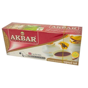 AKBAR TEA BAGS BLACK 25 X 2GM - ANA Grocer by ANA Investment Pvt Ltd