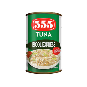 555 TUNA FLAKES BICOL EXPRESS 155G - ANA Investment Pvt Ltd