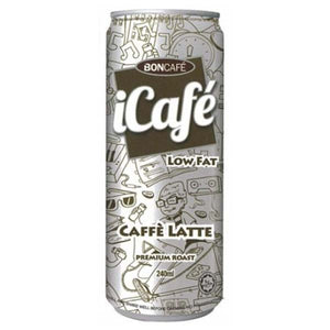 BONCAFE ICAFE CAFFEE LATTE 240ML - ANA Grocer by ANA Investment Pvt Ltd