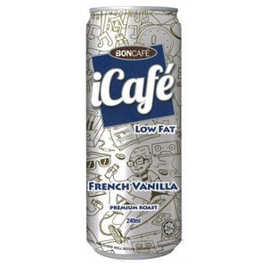 BONCAFE ICAFE FRENCH VANILLA 240ML - ANA Grocer by ANA Investment Pvt Ltd