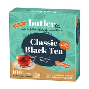 BUTLER CLASSIC BLACK TEA 100 X 2GM - ANA Grocer by ANA Investment Pvt Ltd