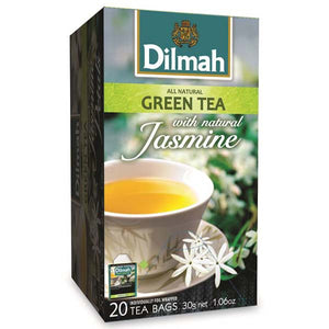 DILMAH GREEN TEA WITH JASMINE 20 BAGS - ANA Grocer by ANA Investment Pvt Ltd
