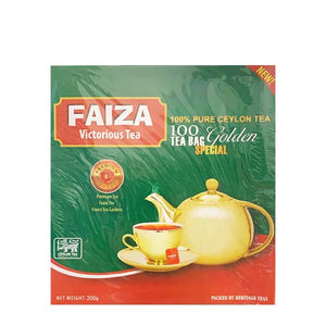 FAIZA BLACK TEA 100 X 2GM - ANA Grocer by ANA Investment Pvt Ltd