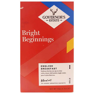 GOVERNOR'S ESTATE TEA ENGLISH BREAKFAST 20 X 2GM - ANA Grocer by ANA Investment Pvt Ltd