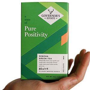 GOVERNOR'S ESTATE TEA  GREEN SENCHA 20 X 2GM - ANA Grocer by ANA Investment Pvt Ltd