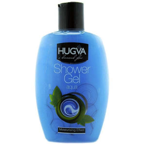 HUGVA DIAMOND GLOW SHOWER GEL AQUA 400ML - ANA Grocer by ANA Investment Pvt Ltd