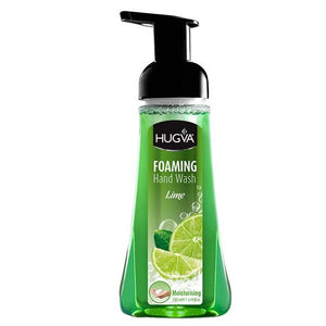 HUGVA FOAMING HAND WASH LIME 250ML - ANA Grocer by ANA Investment Pvt Ltd