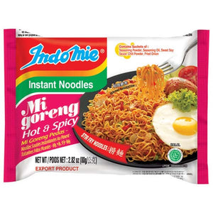 INDOMIE NOODLES MI GORENG HOT & SPICY 80GM - ANA Grocer by ANA Investment Pvt Ltd