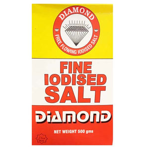 FINE IODISED SALT DIAMOND 500GM - ANA Grocer by ANA Investment Pvt Ltd