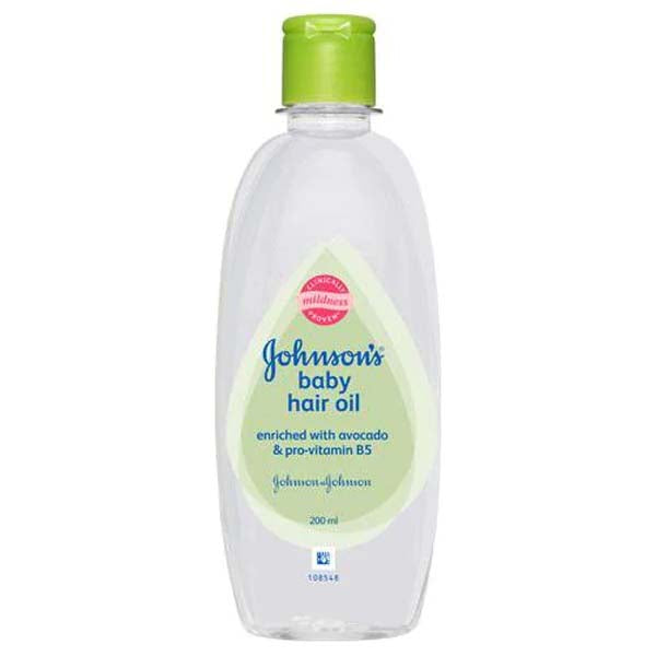 JOHNSONS BABY HAIR OIL AVOCADO 200ML - ANA Grocer by ANA Investment Pvt Ltd