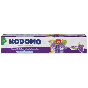 KODOMO CHILDRENS TOOTHPASTE GRAPE 80G - ANA Grocer by ANA Investment Pvt Ltd
