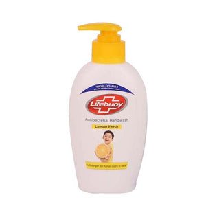LIFEBUOY HANDSOAP PUMP LEMON FRESH 200ML - ANA Grocer by ANA Investment Pvt Ltd
