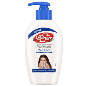 LIFEBUOY HAND WASH MILD CARE BLUE 190ML - ANA Grocer by ANA Investment Pvt Ltd