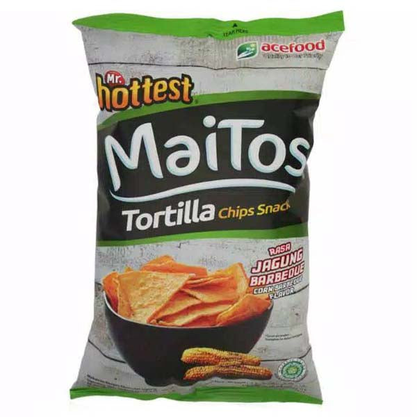 MAITOS TORTILLA CHIPS PACKET BBQ 140GM - ANA Grocer by ANA Investment Pvt Ltd