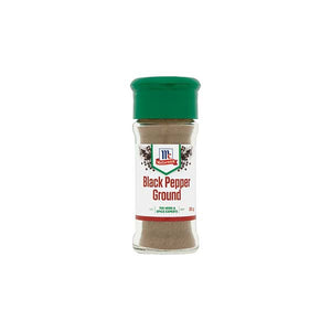 MCCORMICK BLACK PEPPER GROUND (BOTTLE) 35GM - ANA Grocer by ANA Investment Pvt Ltd