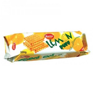 MUNCHEE LEMON PUFF 200GM - ANA Grocer by ANA Investment Pvt Ltd