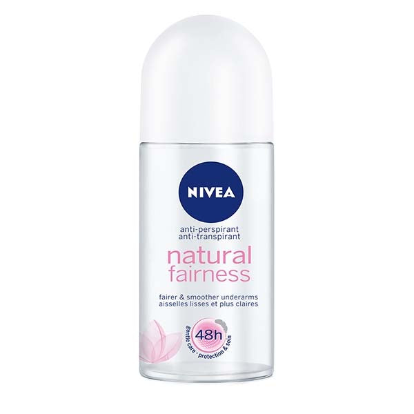 NIVEA DEODORANT ROLL-ON NATURAL FAIRNESS FEMALE 50ML - ANA Grocer by ANA Investment Pvt Ltd