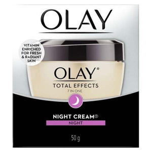 OLAY TOTAL EFFECT NIGHT CREAM 50MG - ANA Grocer by ANA Investment Pvt Ltd