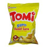 TOMI SUPER SWEET CORN CHIPS 110GM - ANA Investment Pvt Ltd