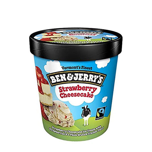 WALLS BEN AND JERRYS STRAWBERRY CHEESECAKE 120ML - ANA Investment Pvt Ltd