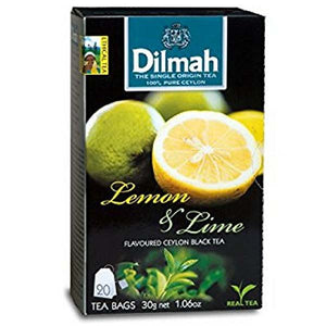 DILMAH TEA BAG LEMON & LIME 20BAGS X 30GM - ANA Grocer by ANA Investment Pvt Ltd