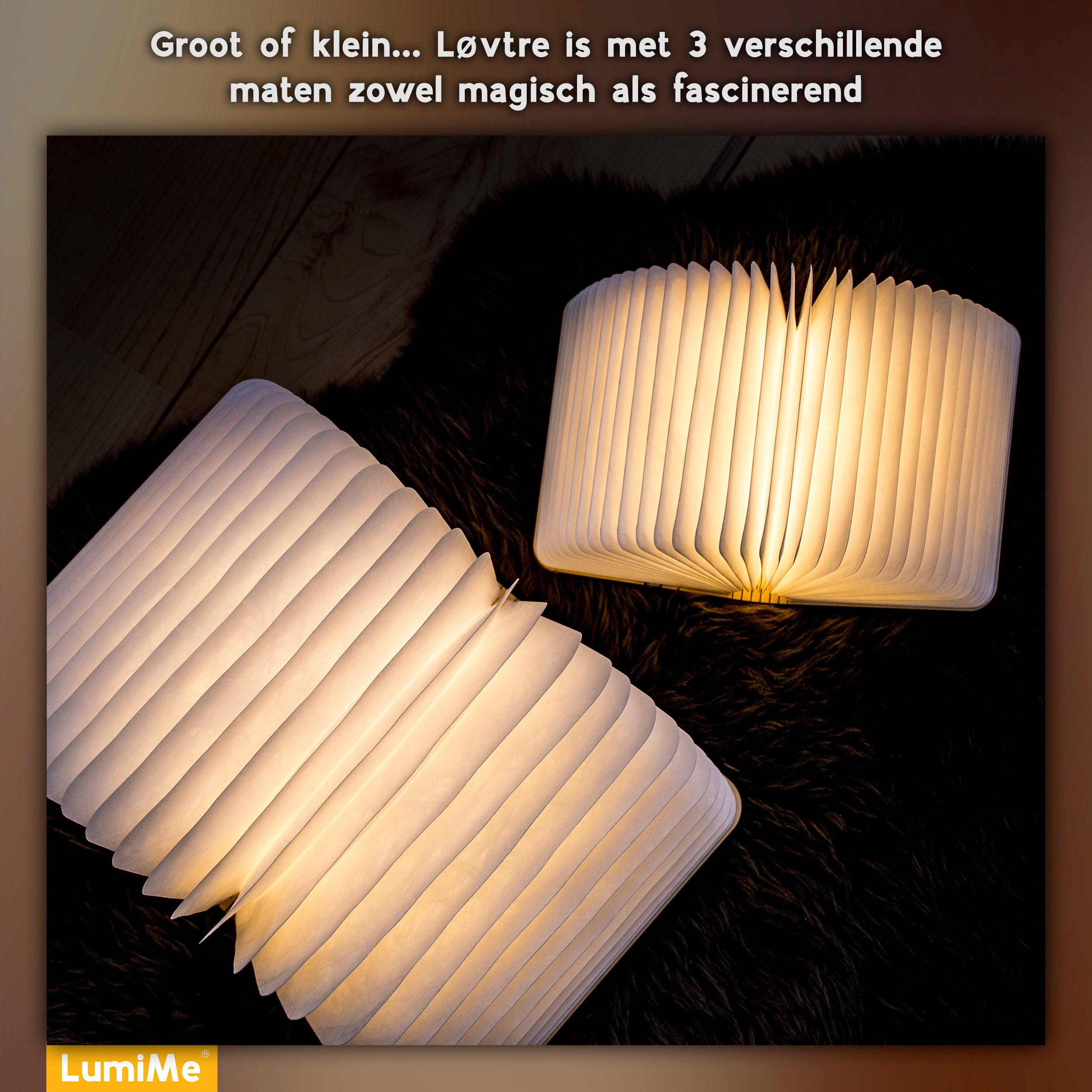 Løvtre - The Original Booklamp