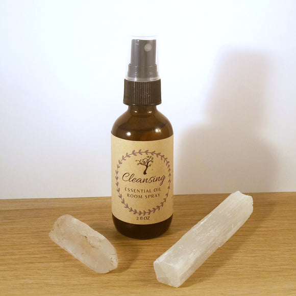 Cleansing Essential Oil Spray