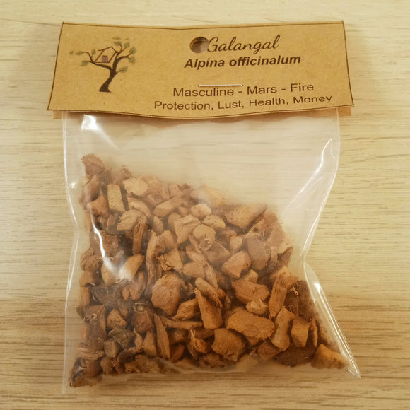 Galangal Root Herb Pouch