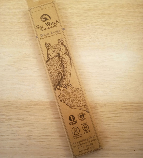 White Lodge Aromatherapeutic Incense - Pack of 25 Sticks