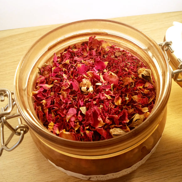 Red Rose Petals - Bulk, Per Ounce