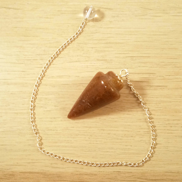Red Stone Pendulum