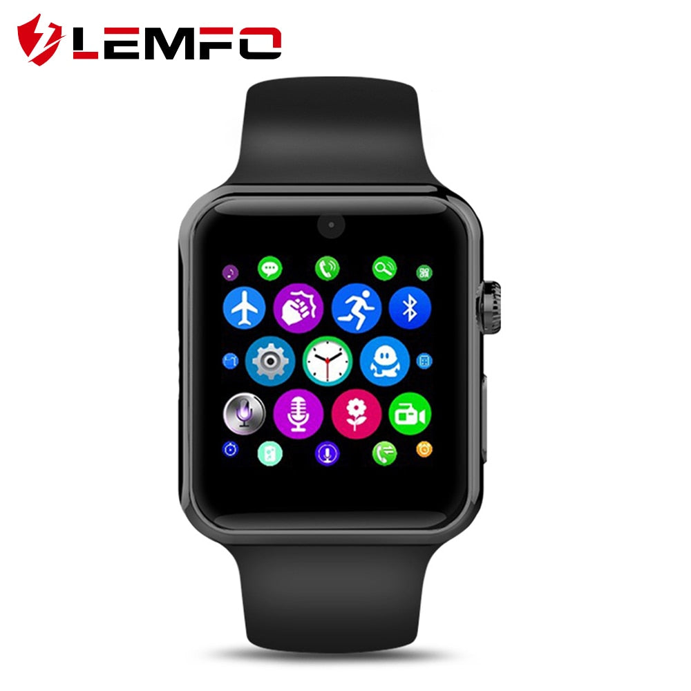 LEMFO LF07 Bluetooth Smart Watch Support SIM Card Pedometer Bluetooth 4.0 Voice Interactive Smart Watch For IOS Android Phone