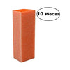 DIXON BLOCK BUFFER - ORANGE 100/180 (PACK. OF 10)