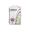FRENCH NATURAL NAIL TIPS (PACK OF 100)