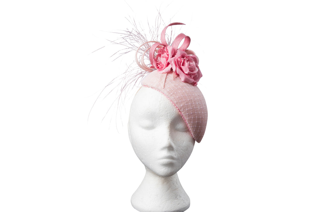 Baby Pink Aoife Headpiece