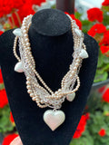 Blush Pearl Statement Neckpiece