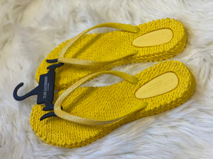 Sunshine Yellow Ilse Jacobsen Flip Flops