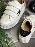 White Lightening Sneakers