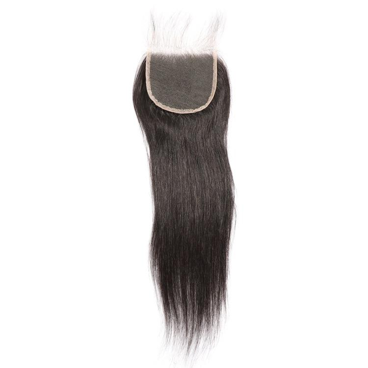 Mink Straight Closure Peruvian Indian Brazilian