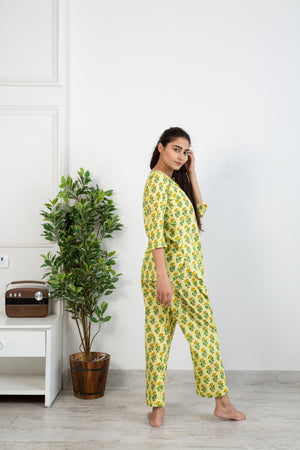 Lime butti lounge wear