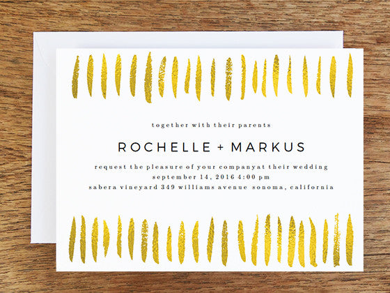 How to Dazzle Your Guests - Amazing Gold Wedding Invitation Designs You'll Love