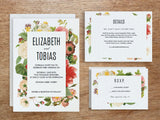 Wedding Invitation Designs - Lush Florals