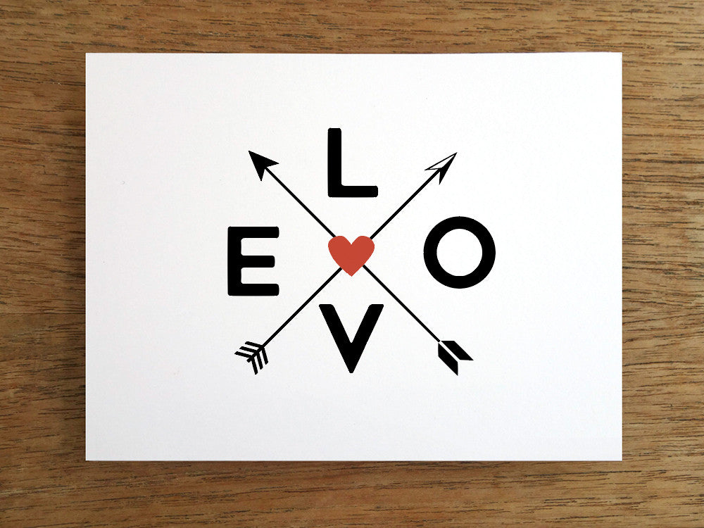 Printable Valentine Cards: It's all about L.O.V.E