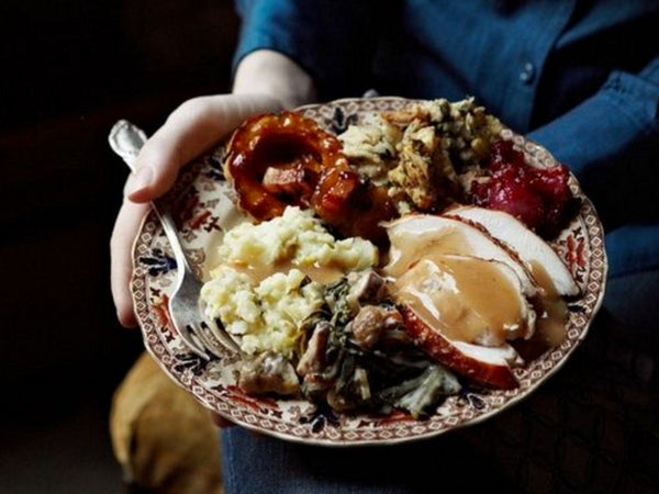 Thanksgiving meal photo by Anna Williams Photography