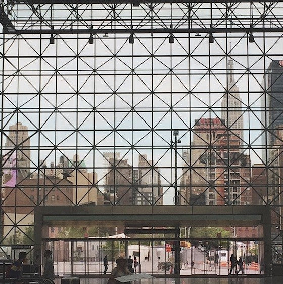 javitz center instagram