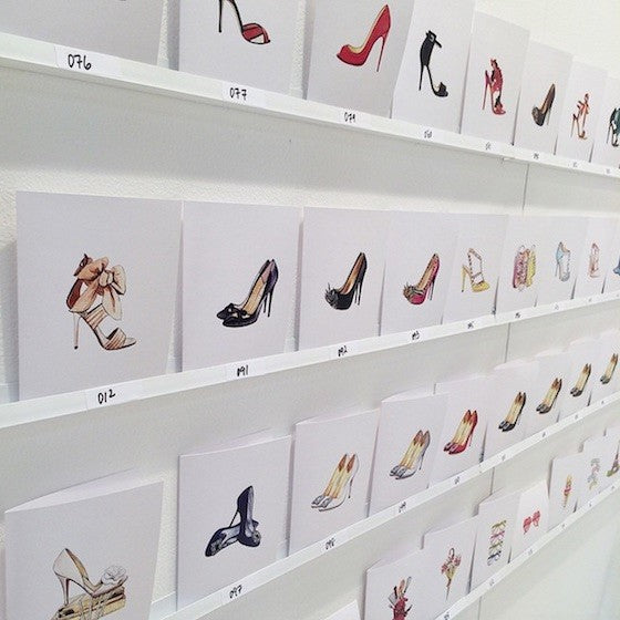 penelope press shoe cards