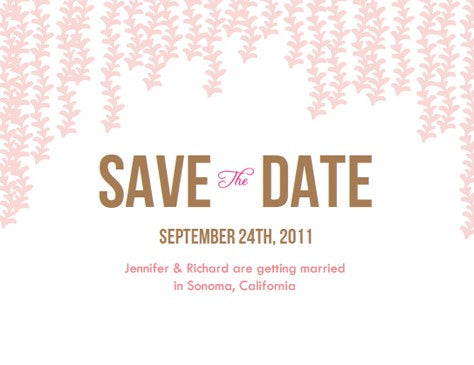 Email save the date templates demirediffusion diy wedding save the date email how to e m papers flashek Choice Image